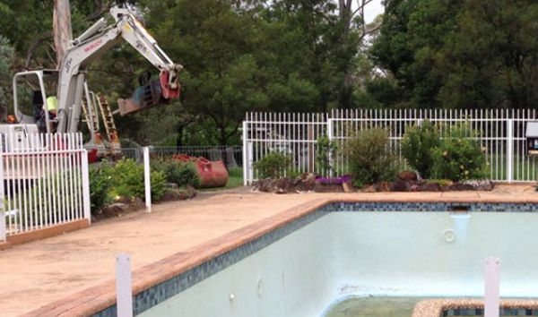 Ingleburn Pool Removal